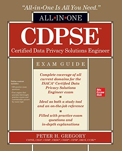 CDPSE Certified Data Privacy Solutions Engineer All-in-One Exam Guide Front Cover