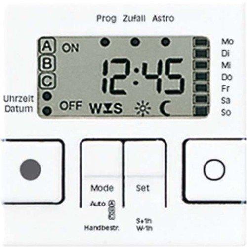 Preisvergleich Produktbild Jung A5201DTUWW Zeitschaltuhr Display Universal