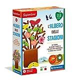 Clementoni 16260 Sapientino, L'albero delle Stagioni, Made in Italy, gioco educativo bambini 3 anni con tessere illustrate, gioco per imparare le stagioni