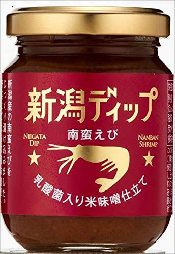 新潟デップ「南蛮えび」 乳酸菌入り米味噌仕立て 90g