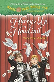 Magic Tree House #50: Hurry Up, Houdini! (A Stepping Stone Book(TM)) by Osborne, Mary Pope (2013) Hardcover