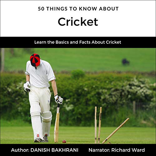 50 Things to Know About Cricket cover art