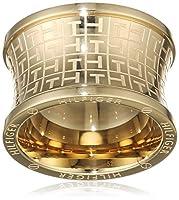 トミーヒルフィガーリングステンレス鋼IPゴールドのロゴサイズ15 THの2700817C [AB9892]