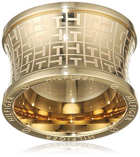 Tommy Hilfiger Jewelry Damen-Ring Classic Signature Edelstahl Gr. 58 (18.5) - 2700817E