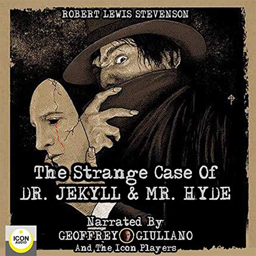 Diseño de la portada del título The Strange Case of Dr. Jekyll & Mr. Hyde