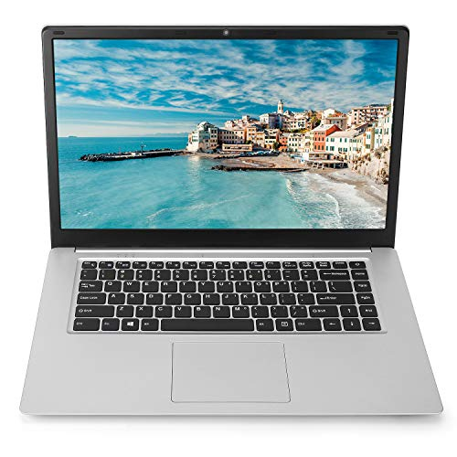 15.6 inch Laptop Notebook Computer PC, Windows 10 Pro OS Intel Celeron Quad-core CPU 8GB RAM 118GB SSD Storage, RJ45 Port WiFi Mini HDMI BT4.0 New Jersey