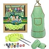 Kinderküche Und Gebäck-Set, Ideales Geschenk & Spielzeug, Kinderküchen-Geschenkset Kinderkochspielküche Wasserdichte Schürzen, Ofenhandschuh