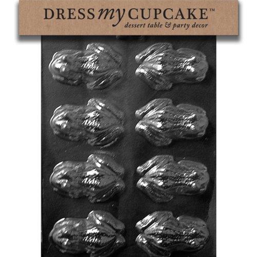 Dress My Cupcake DMCA126 Moule pour chocolat Grenouille Jardin Pelouse Entretien