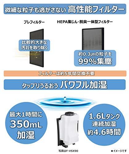 Panasonic(パナソニック)『加湿空気清浄機(F-VXS40)』