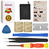 A1579 Battery Replacement Compatible with Apple Watch Series 1 42mm A1554 A1579 A1803 with Repair Tool Set + Installation Instruction + Back Cover Adhesive