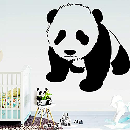 BailongXiao Colorido Panda Impermeable Etiqueta de la Pared decoración del Arte de la Pared decoración del hogar Sala de Estar decoración 45x46.5cm