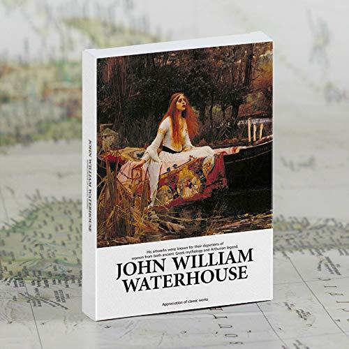 30Stücke / Set John William Waterhouse Postkarten Kunstpostkarten Grußkarten Geschenkkarten Wanddekoration