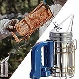 ポータブル蜂ハイブ喫煙者、熱シールド養蜂蜂の巣装置を備えたステンレス鋼電気喫煙者、電気蜂喫煙者