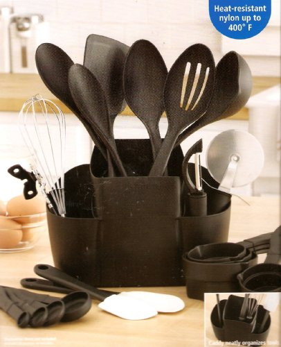 Mainstays 21 Piece Kitchen Tool and Caddy Set