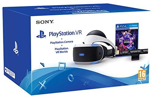 Playstation 4: Psvr + Camera + Vr Worlds [Bundle]