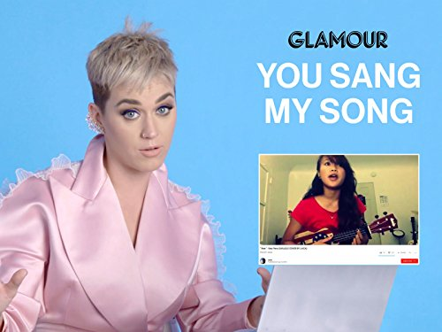 Katy Perry Watches Fan Covers On YouTube