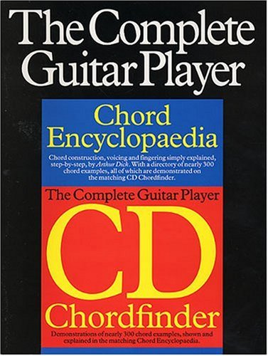The Complete Guitar Player: Chord Encyclopedia Cd Chordfinder (The Complete Guitar Player Series)