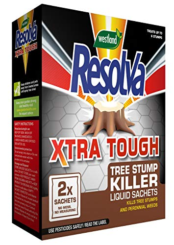 Resolva Xtra Tough Tree Stump Killer Sachets, 2 x 100 ml