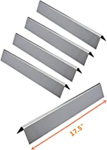 DcYourHome Gas Grill Stainless Steel Flavorizer Bar Set of 5 for Weber 7620, Fits Weber 300 Series, Weber Genesis E330 Series Gas Grills