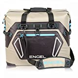 Engel HD30 Waterproof Soft-Sided Cooler Bag - Tan/Blue