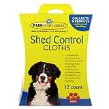 FURminator Paños de Control de cobertizo para Perros, 12 Unidades