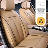 Vacant seat Premium naapa Leather Bucket seat Covers -VS- MS Wagon R ZXI