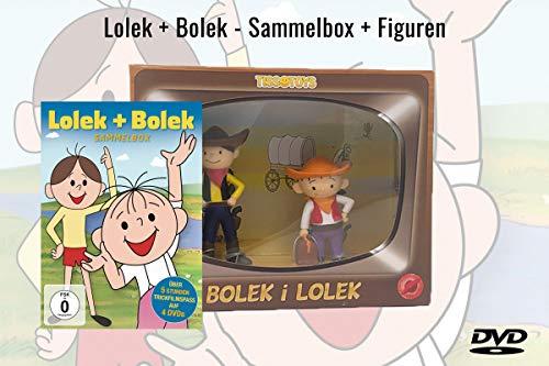 Lolek + Bolek - Sammelbox + Figurenset (4 DVDs)