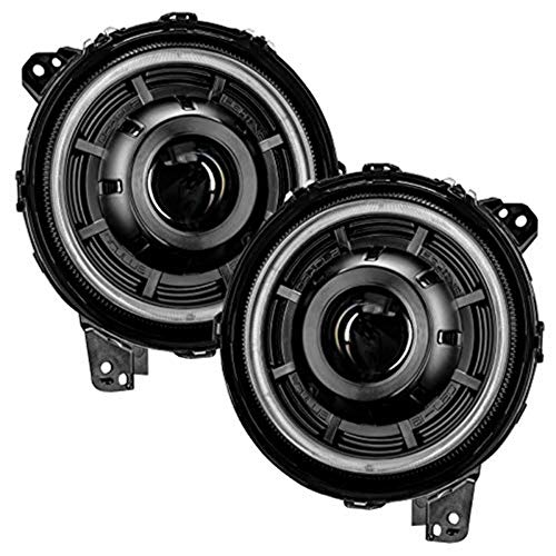 ORACLE Lighting Oculus Bi-LED Projector Headlights Compatible with 2018-2020 Jeep Wrangler JL and 2020 Jeep Gladiator JT Models - Part # 5839-504