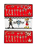 Kingdom Hearts II - 12 piezas para disfraz de espada de llave dorado Talla única