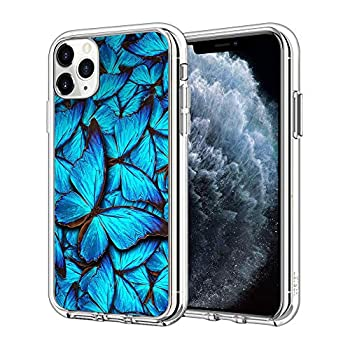 iPhone 11 Case Butterfly Hygienically CleanTransparent case with a Personality Pattern Explosion-Proof
