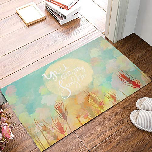 Bathroom Bath Rug Kitchen Floor Mat Carpet,Grey,Contemporary Floral Graphic Print Various Sized Four Leaf Clovers Mod Decorative Decorative,Gray Black White,Flannel Microfiber Non-slip Soft Absorbent