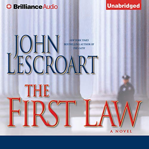 The First Law audiobook cover art