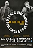 Paul Simon & Sting - On Stage, München 2015 »