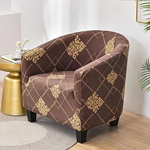 1seat Club Chair Stretch Tub Armchair Bezüge Abnehmbare s Sofa Cover Spandex Couch Cover Möbelschutz-LKFQ,Universal