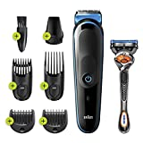 Braun 7-in-1 Trimmer Mgk3245 Beard Trimmer for Men, Face Trimmer and Hair Clipper