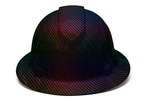 Full Brim Hard Hat Custom Color Weave Design Safety Helmet With 6 Point Suspension by Acerpal