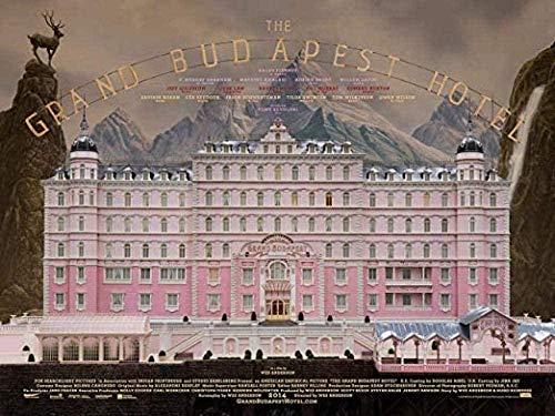 DFCYT Puzzle Poster Puzzle de 1000 Piezas de Madera Rompecabezas Casual Muy desafiante para Adultos y Adolescentes- Grand Budapest Hotel