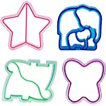 Sandwich-Cutters-for-Kids-4-pk-Cute-Bread-Crust-Cookie-Cutters-with-Butterfly-Star-Dinosaur-Elephant-Great-for-School-Lunches-and-Home-Baking
