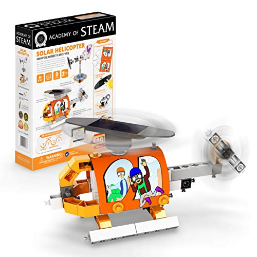 Engino - Academy of Steam Toys | Solar Helicopter: Converting Solar To Electricity - STEM Building...