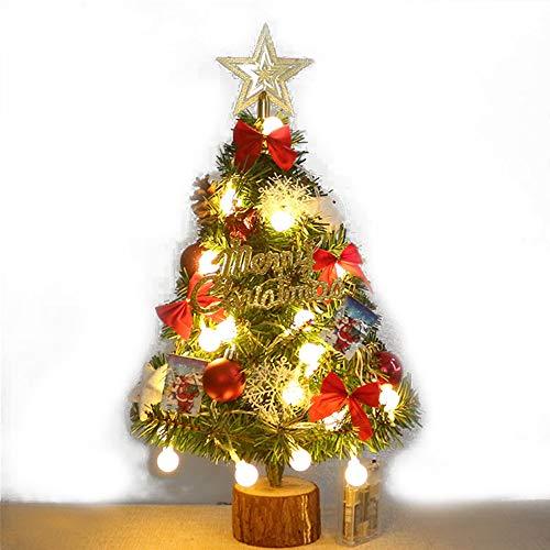 yzf Christmas Tree, Sturdy Metal Bracket, Classic Christmas Tree, Advanced Christmas Decoration, Mini Christmas Tree, Led String Lights, 45cm