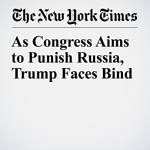 As Congress Aims to Punish Russia, Trump Faces Bind copertina