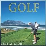 Golf Calendar 2022 - Golf Lovers - Sport Calendar 2022: Office Calendar 2022 Size 8.5 x 8.5 Inch,16 Month Calendar 2022 For Women, Men & Golf Lovers .
