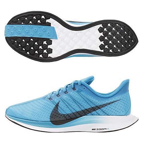 Nike Zoom Pegasus 35 Turbo, Zapatillas de Atletismo para Hombre, Multicolor (Obsidian Mist/Bright Crimson/Vast Grey 000), 42 EU