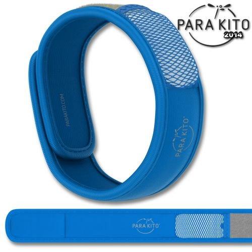 ParaKito Mückenschutz Armband Blau