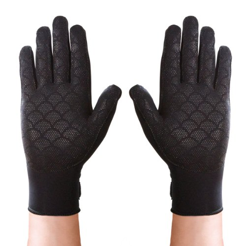 Thermoskin Full Finger Arthritis Gloves, Black, Small