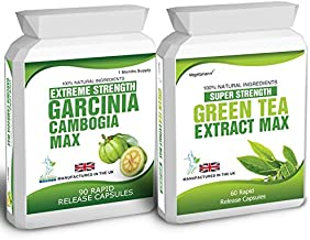 90 Garcinia Cambogia Green Tea Extract Diet Weight Loss Fat Burner Pills Free Weight Loss Dieting Tips Estimated Price : £ 9,95