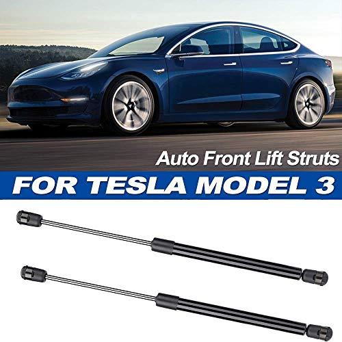 BYWWANG 2X Auto Front Hood Lift Support Stoßdämpfer Dämpfer Arm Federbeine, für Tesla Model 3