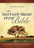 The Matthew Henry Study Bible Hardcover (Hardcover)