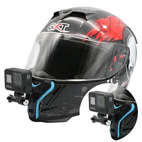 Motorcycle Helmet Chin Mount Strap Compatible with GoPro Hero 10 Black,Hero 9/8/7/6/5 Black,...