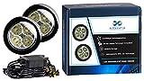 Autolight 24 LED Tagfahrlicht Rund-Design 12V 8 x SMD LEDs TÜV R87 Modul V60